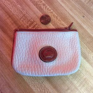 Dooney and Bourke coin pouch